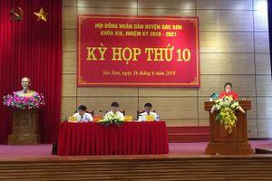 HĐND huyện Sóc Sơn quyết định nhiều vấn đề quan trọng