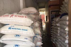 Phát hiện hơn 43 tấn đường không rõ nguồn gốc