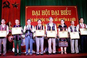Ðại hội đại biểu các DTTS huyện A Lưới