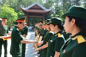 Cơ quan Tổng cục Chính trị tiếp tục giữ vững và không ngừng phát huy phẩm chất Bộ đội Cụ Hồ