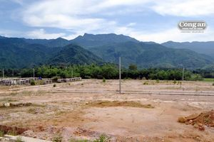 Dự án TĐC Trung tâm Hòa Bắc và bờ kè xung yếu sông Cu Đê: 1 dang dở, 1 dở dang!