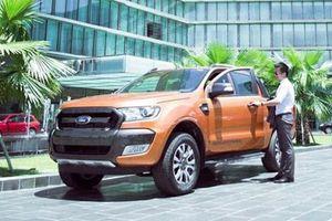 Triệu hồi hơn 25.000 xe bán tải Ford Ranger tại Việt Nam