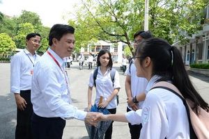 Thứ trưởng Nguyễn Hữu Độ: Kỳ thi tổ chức yên tĩnh, nghiêm túc