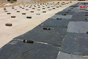 Quân đội Syria phát hiện kho vũ khí lớn do Israel sản xuất