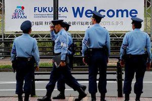Cảnh sát dày đặc bảo vệ hội nghị G20 ở Osaka