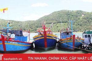 Hà Tĩnh cấp chứng nhận an toàn vệ sinh thực phẩm cho 11 tàu cá