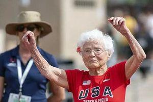 Mỹ: Cụ bà 103 tuổi lập nhiều kỷ lục về chạy cự ly ngắn