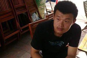 Một thanh niên Trung Quốc sang Việt Nam để hành nghề 'ăn xin'