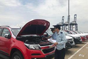 TPHCM: Ô tô nhập khẩu tiếp tục giảm