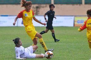 Cầu thủ nữ Sơn La nén nỗi đau mất cha để thi đấu ở giải VĐQG