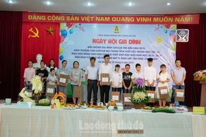 Công đoàn ngành Xây dựng Hà Nội biểu dương 90 gia đình CNVCLĐ tiêu biểu