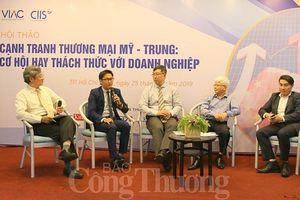 Xung đột thương mại Mỹ - Trung: Thách thức đan xen cơ hội cho doanh nghiệp Việt