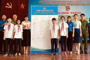 Tuổi trẻ quận Hoàng Mai nói không với ma túy và chất hướng thần