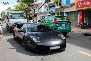 Siêu xe triệu đô Lamborghini Murcielago SV tái xuất đường phố Sài Gòn