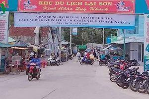 Chấn chỉnh thu phí dịch vụ du lịch không đúng quy định tại Kiên Giang