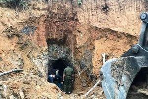 Nghệ An: Phá hủy 45 điểm khai thác khoáng sản tại các mỏ thiếc 'hết đát'