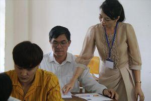 Thí sinh 54 tuổi ở Đắk Nông quyết thi đỗ tốt nghiệp