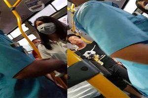 Lại thêm một người đàn ông thủ dâm trên xe buýt