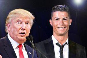 Tổng thống Trump ca ngợi sức hút của Ronaldo