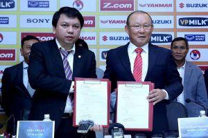 Người đại diện của HLV Park Hang-seo chính thức lên tiếng về hợp đồng