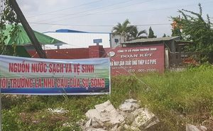 Người dân phản đối DN gây ô nhiễm môi trường nghiêm trọng