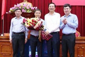 Ông Nguyễn Văn Thắng được bầu làm Phó Bí thư Quảng Ninh
