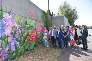 Khánh thành tranh tường của họa sĩ Việt tại Pháp