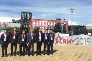 Việt Nam tham dự Diễn đàn kỹ thuật quân sự quốc tế 'Army-2019' tại LB Nga