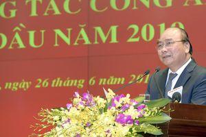 Bộ Công an: Hội nghị sơ kết công tác Công an 6 tháng đầu năm 2019