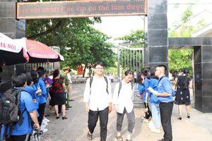 Phú Thọ: Tỷ lệ thí sinh dự thi đạt gần 100%