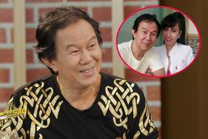 Nghệ sĩ Trung Nghĩa tiết lộ cuộc sống với vợ trẻ kém 38 tuổi