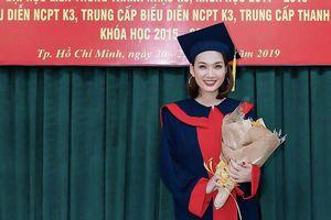 Á quân Sao mai 2019 Thanh Tâm thi tốt nghiệp Thanh nhạc với số điểm 9,5
