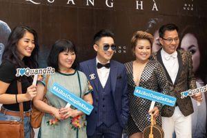 Dàn sao Việt quy tụ trong sự kiện ra mắt MV 'Ai rồi cũng khác' của Quang Hà
