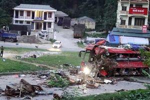 Nhiều xe vận tải Lào hết hạn lưu hành nhưng cố tình 'chạy chui'