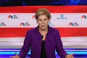 Bầu cử Mỹ 2020: Thượng nghị sỹ đảng Dân chủ E. Warren ghi điểm