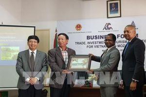 Việt Nam – Mozambique xúc tiến hợp tác trên 3 lĩnh vực