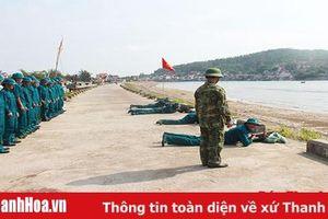Chú trọng xây dựng lực lượng dân quân biển vững mạnh