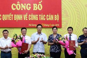 Hà Giang, TP.HCM, Quảng Ninh, Cần Thơ, Tây Ninh có nhân sự mới