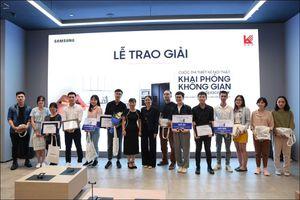Samsung trao giải thiết kế cho sinh viên ĐH Kiến trúc TP.HCM
