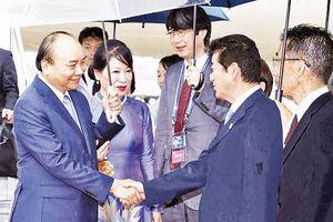 Thủ tướng Nguyễn Xuân Phúc bắt đầu chuyến tham dự Hội nghị cấp cao G20