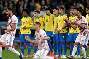 Brazil vào bán kết sau loạt luân lưu cân não với Paraguay