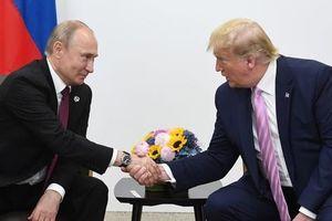 Hai Tổng thống Putin và Trump gặp nhau bên lề G20