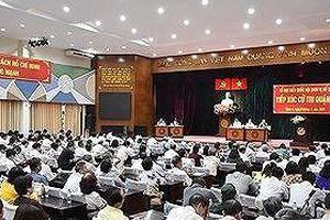 Lịch tiếp xúc cử tri trước kỳ họp thứ 15 Hội đồng Nhân dân TPHCM khóa IX (Đợt 2)