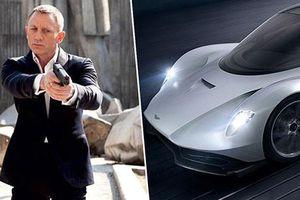 Điệp viên 007 sẽ cầm lái Aston Martin Valhalla 1,9 triệu USD