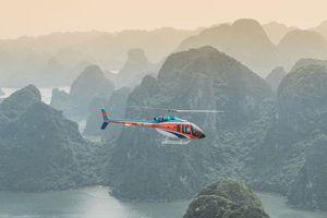 Ngắm cảnh Vịnh Hạ Long bằng trực thăng - những khoảnh khắc đẹp đến nao lòng