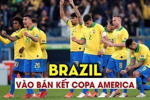 Thắng luân lưu nghẹt thở trước Paraguay, Brazil vào bán kết Copa America