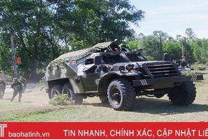 Chuẩn bị cho diễn tập khu vực phòng thủ huyện Đức Thọ