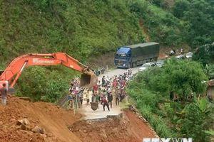 Lai Châu tích cực tìm nạn nhân mất tích, 5 bản vẫn bị cô lập do mưa lũ