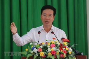 Đồng chí Võ Văn Thưởng dự lễ khánh thành Thành phố giáo dục quốc tế - IEC Quảng Ngãi