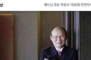 Thầy Park lên tiếng với báo Hàn về mức lương ở Việt Nam